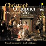 葛勞普納:管弦樂作品集<br>Christoph Graupner : Orchestral Works