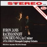 拉赫曼尼諾夫:第二號鋼琴協奏曲( 180 克 LP )<br>堅尼斯,鋼琴 / 安東杜拉第 指揮 明尼亞波里交響樂團<br>Rachmaninoff: Concerto No. 2 in C minor<br>Byron Janis, piano / Minneapolis Symphony Orchestra conducted by Antal Dorati