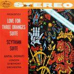 【黑膠專書 #018】三橘之戀、賽西亞組曲( 180 克 45 轉 2LPs )<br>杜拉第 指揮 倫敦交響管弦樂團<br>PROKOFIEV LOVE FOR THREE ORANGES SUITE<br>Antal Dorati conducts the London Symphony Orchestra