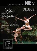 芭蕾舞劇《西兒薇亞》與《柯碧莉亞》(HRx數位母帶檔案)(線上試聽)<br>馬汀.魏斯特指揮舊金山芭蕾舞管弦樂團<br>Leo Delibes : Sylvia, Coppelia<br>San Francisco Ballet Orchestra/ Conductor : Martin West<br>HR125