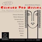 芝加哥專業音樂家合奏團:麥迪那音樂廳(雙片裝HDCD)<br>CHICAGO PRO MUSICA - The Medinah Sessions (2CDs)<br>RR2102
