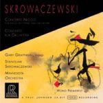 史科瓦澤夫斯基:尼可羅協奏曲(HDCD)<br>史科瓦澤夫斯基 指揮 明尼蘇達管絃樂團<br>葛拉夫曼,鋼琴<br>Stanislaw Skrowaczewski - Concerto Nicolo For Piano Left Hand And Orchestra Gary Graffman, piano<br>RR103