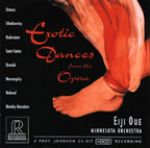 歌劇舞曲集錦(HDCD) / 大植英次 指揮 明尼蘇達管弦樂團<br>Exotic Dances From The Opera/Minnesota Orchestra / Eiji Oue<br>RR71