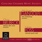 協和室內樂會社首張專輯<br>Brubeck and Gandolfi works <br>Concord Chamber Music Society<br>RR122