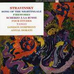 史特拉汶斯基:交響詩『夜鶯之歌』、『煙火』 ( 180 克 LP )<br>安東杜拉第 指揮 倫敦交響樂團<br>Stravinsky: Song of the Nightingale / Fireworks <br>Antal Dorati - London Symphony Orchestra