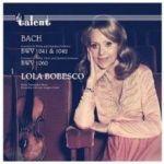 巴哈:小提琴協奏曲,BWV1041 、 1042 / 小提琴及雙簧管協奏曲 (CD) <br>博貝絲庫,小提琴 / 易沙意合奏團<br>Bach: Concerto for Violin and Chamber Orchestra BWV 1041 & 1042<br>Lola Bobesco, violin / Ensemble d'Archets Eugene Ysaye<br>(線上試聽)