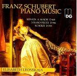 「優雅神采」舒伯特:鋼琴音樂 ( 線上試聽 )<br>伊莉莎白.蕾昂絲卡雅,鋼琴<br>Schubert:Piano Music<br>Elisabeth Leonskaja (piano)