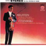 【黑膠專書 #017】德弗札克:小提琴協奏曲、葛拉茲諾夫:小提琴協奏曲 ( 180 克 LP )<br>米爾斯坦,小提琴 / 史坦伯格 指揮 匹茲堡交響樂團<br>Antonin Dvorak & Alexander Glazunov: Violin Concertos<br>Nathan Milstein, violin / William Steinberg conducting the Pittsburgh Symphony Orches