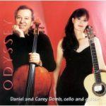 奧迪賽—大提琴:丹尼爾.頓波/吉他:凱莉.頓波<br>Odyssey: Daniel Domb, Cello / Carey Domb, Guitar<br>(線上試聽)