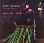 不能說的愛意:楊納傑克與德弗札克弦樂四重奏<br>楊納傑克:第一號弦樂四重奏與第二號弦樂四重奏<br>德弗札克:弦樂四重奏「柏樹」<br>萊比錫弦樂四重奏<br>Das Leipziger Streichquartett spielt Janáček und Dvorák