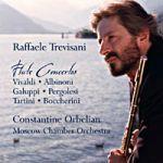 義大利長笛協奏曲 (CD)<br>特列維薩尼,長笛<br>Raffaele Trevisani: Flute Concertos<br>Raffaele Trevisani, flute / Constantine Orbelian, conductor Moscow Chamber Orchestra
