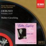 【絕版名片】德布西 : 第一、二冊前奏曲(世紀原音58)<br>季雪金, 鋼琴<br>Debussy : Preludes I & II<br>Walter Gieseking, piano