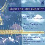 豎琴與長笛樂曲集<br>豎琴:塔提亞娜.歐絲果柯娃 / 長笛:歐列格.塞爾格耶夫<br>康士坦丁.奧伯連 指揮 莫斯科室內管弦樂團<br>Music for Harp and Flute<br>Harp : Tatiana Oskolkova / Flute: Oleg Sergeev<br>Conductor : Constantine Orbelian / Moscow Chamber O