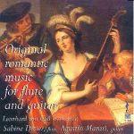 深情對話:長笛與吉他(進口版 CD ) / Original Romantic Music For Flute And Guitar<BR>Sabine Dreier,長笛 / Agustin Maruri,吉他