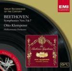 【絕版名片】貝多芬:第五、七號交響曲(世紀原音101)<br>克倫培勒(指揮)愛樂管弦樂團<br>Beethoven: Symphonien Nr.5 & 7<br>Klemperer
