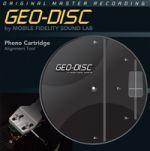 GEO-DISC 唱頭調整工具片 (美國原裝進口)<br>Geodisc Cartridge Alignment Tool