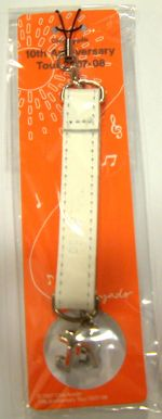 【點數商品】綾戶智繪 Chie Ayado 十週年紀念 白皮手機鍊 一個