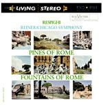 【CR 絕版名片】雷史畢基︰羅馬之松、羅馬之泉( 200 克 LP )<br>萊納 指揮 芝加哥交響樂團<br>Respighi:Pines of Rome、Fountains of Rome<br>Reiner, conductor / Chicago Symphony