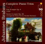 布拉姆斯:鋼琴三重奏第一集<br>Brahms : Piano Trios Vol. 1