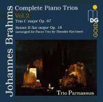 布拉姆斯:鋼琴三重奏第二集<br>Brahms: Piano Trios Vol. 2