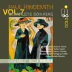 亨德密特:奏鳴曲第七集<br>音樂別墅合奏團<br>Hindemith: Complete Sonatas Vol. 7<br>Ensemble Villa Musica