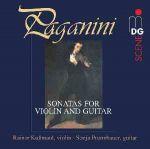 弦燒樂韻-帕格尼尼小提琴與吉他奏鳴曲 ( 180 克 LP )<br>Niccoló Paganini / Sonatas for Violin and Guitar<br>( 線上試聽 )