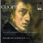 蕭邦:鋼琴作品集 / 蕾昂絲卡雅,鋼琴 ( 雙層 SACD )<br>Frédéric Chopin (1810-1849) / Piano Works / Elisabeth Leonskaja, piano