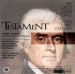 自由誓約 / Testament<br>希立格 指揮 龜溪合唱團<br>達拉斯管樂團 / Turtle Creek Chorale / Timothy Seelig<br>Dallas Wind Symphony<br>RR49