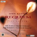 約翰‧路特:安魂曲與五首詩篇聖樂 / 謝利 指揮 龜溪合唱團、達拉斯女子合唱團<br> JOHN RUTTER Requiem and Five Anthems<br>RR57