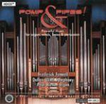 爆棚管風琴(HDCD)<br>芬聶爾 指揮 達拉斯管樂團<br>Pomp & Pipes!<br>Dallas Wind Symphony / Frederick Fennell <br>Paul Riedo, Organ<br>RR58