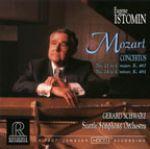 莫札特:第21、24號鋼琴協奏曲 /  Mozart: Concerto Nos. 21 & 24<br>伊斯托敏,鋼琴 / Eugene Istomin, Piano <br>舒瓦茲 指揮 西雅圖交響樂團 / The Seattle Symphony Orchestra / Gerard Schwarz<br>RR68