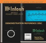 McIntosh 示範天碟 (雙層 SACD)<br>McIntosh - Demonstration Reference Disc (Hybrid SACD)