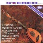 雷史畢基:魯特琴與管絃樂團演奏之古樂曲和舞曲 (180克LP)<br>安東杜拉第 指揮 匈牙利愛樂管絃樂團<br>Respighi: Ancient Airs And Dances For Lute And Orchestra Suites No.1,2,3