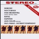 德布西:夜曲 (雲彩、節慶、女妖)、拉威爾:達芙妮與克羅埃組曲第二號 ( 180 克 LP )<br>保羅裴瑞 指揮 底特律交響樂團<br>Claude Debussy: Nocturnes Nuage,, Fete und Sirenes / Maurice Ravel:  Daphnis et Chloe Suite No.2<br>Paul Paray / Th