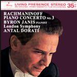 拉赫曼尼諾夫:第 3 號鋼琴協奏曲 ( 180 克 LP )<br> 堅尼斯,鋼琴 / 杜拉第 指揮 倫敦交響樂團<br> Rachmaninov: Piano Concerto No. 3 <br>Byron Janis (Piano) and the London Symphony Orchestra conducted by Antal Dorati