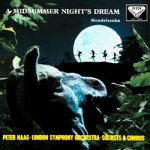 孟德爾頌:仲夏夜之夢 (180 克 LP )<br>馬格 指揮 倫敦交響樂團<br>Mendelssohn: A Midsummer Night's Dream<br>Peter Maag / London Symphony Orchestra