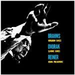 布拉姆斯:匈牙利舞曲、德弗札克:斯拉夫舞曲(180克 LP)<br> 萊納 指揮 維也納愛樂管弦樂團<br>Brahms: Hungarian Dances / Dvorák: Slavonic Dances<br>Vienna Philharmonic Orchestra conducted by Fritz Reiner